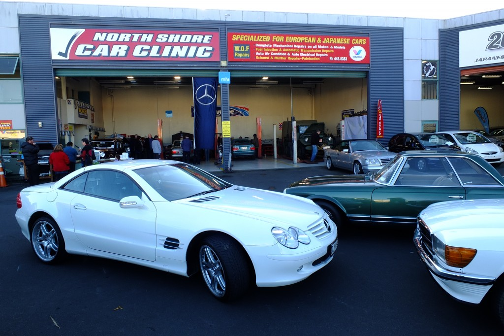 Our hosts, North Shore Car Clinic