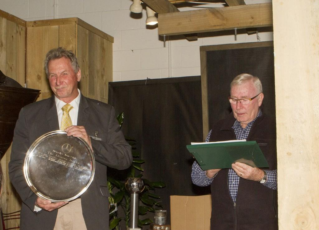 President Harald and MC Bill