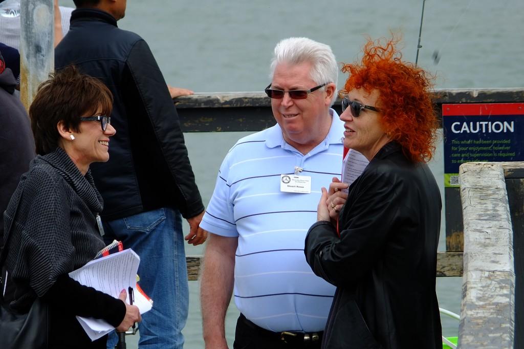Lesley, Stuart and Barbara
