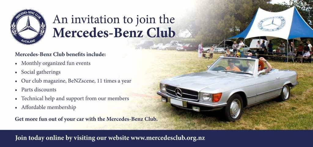 Membership application form for membership renewal for Mercedes benz membership