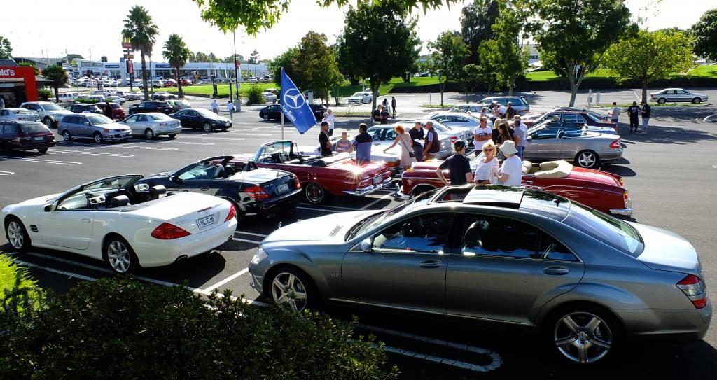 A McDonalds carpark never looked so good