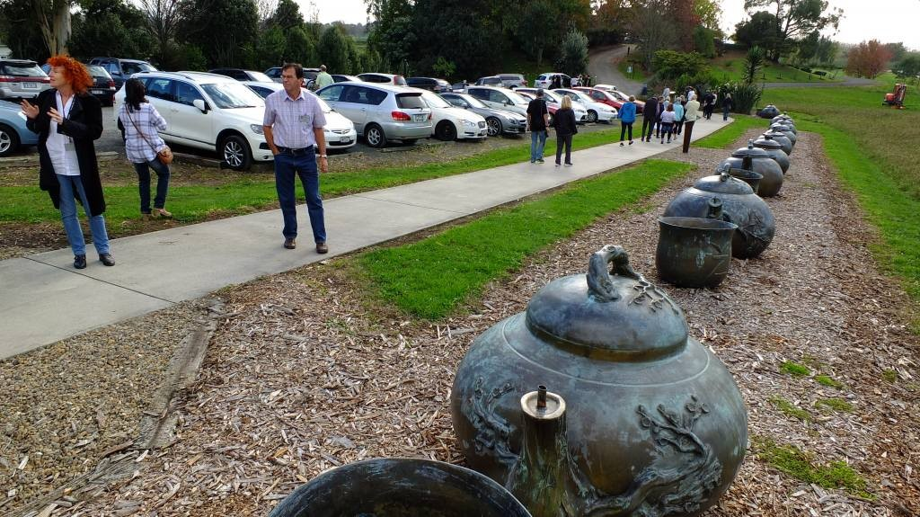 Teapot parade