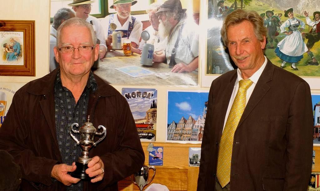 Brian, Millenium Award Trophy