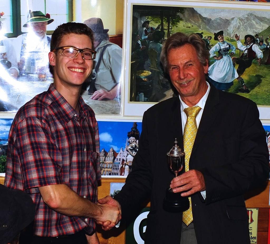 Gerrit, Van Kan Cup Committee Award