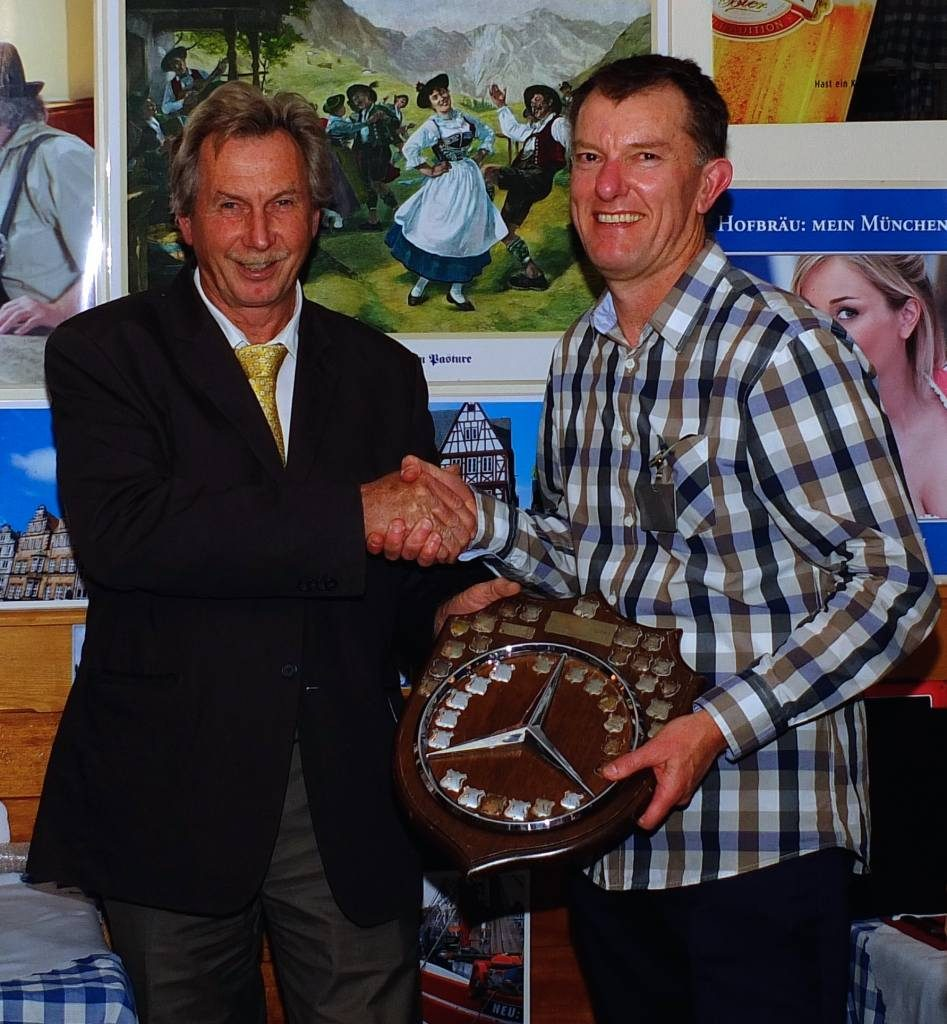 Greg, Clubman Trophy most points
