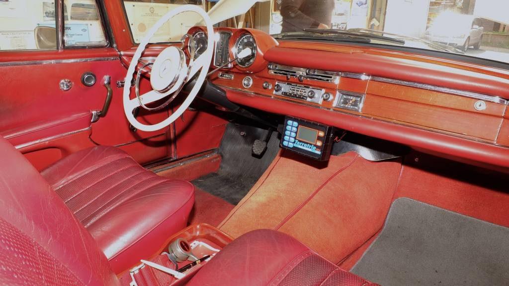 Almost original interior