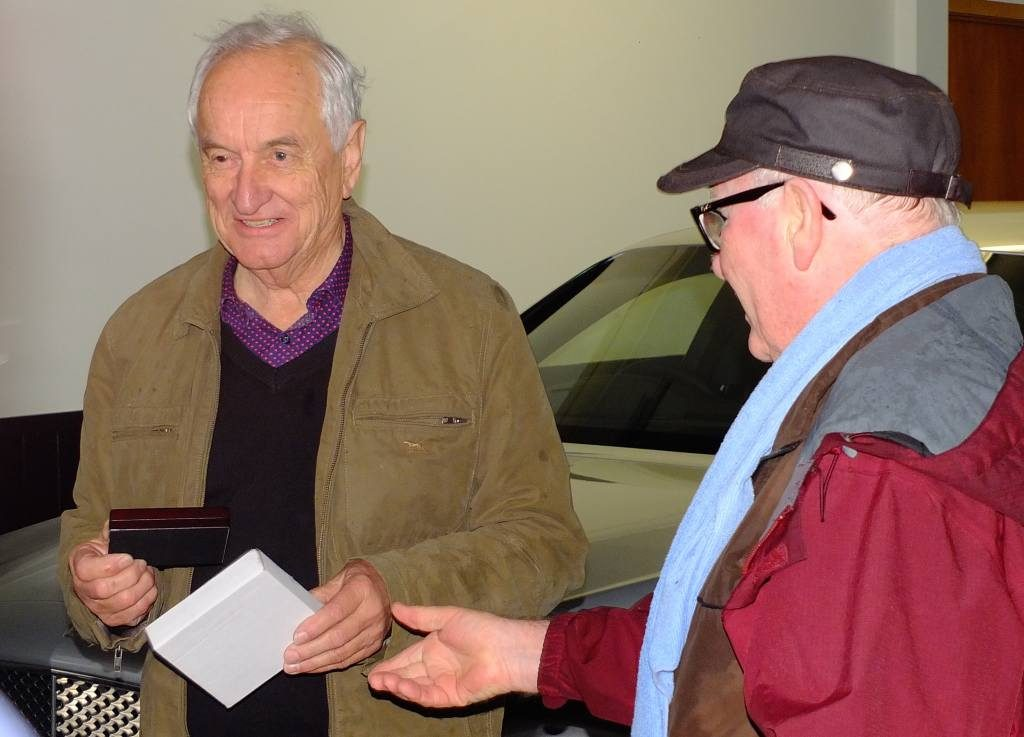 Bill extends appreciation to Richard Langridge