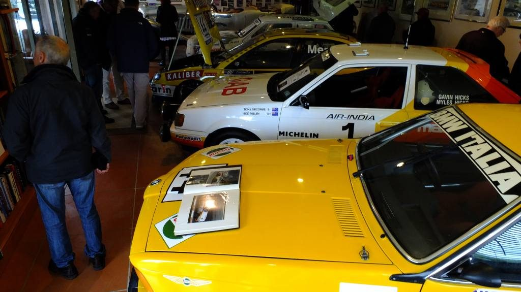 Euro Rally cars