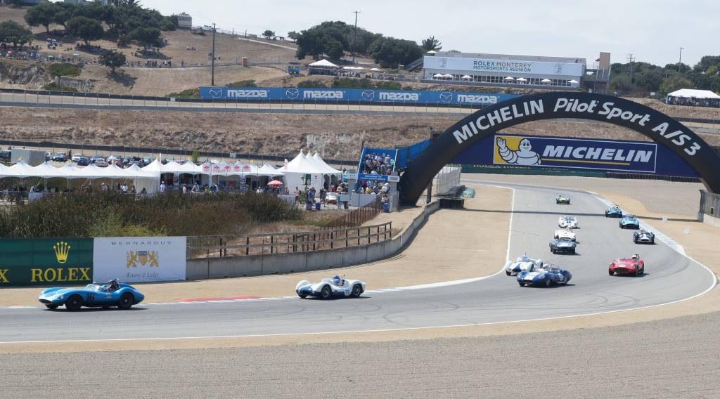 Racing at Laguna Seca