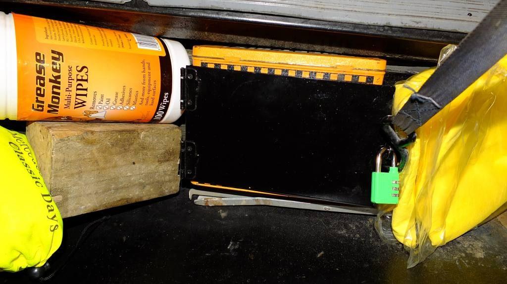 Weet-Bix tin safe