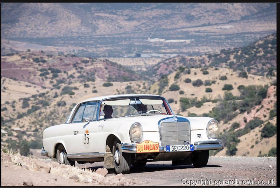 Garry and Ken\'s 2016 Rally of the Incas Blog – Mercedes-Benz Club ...