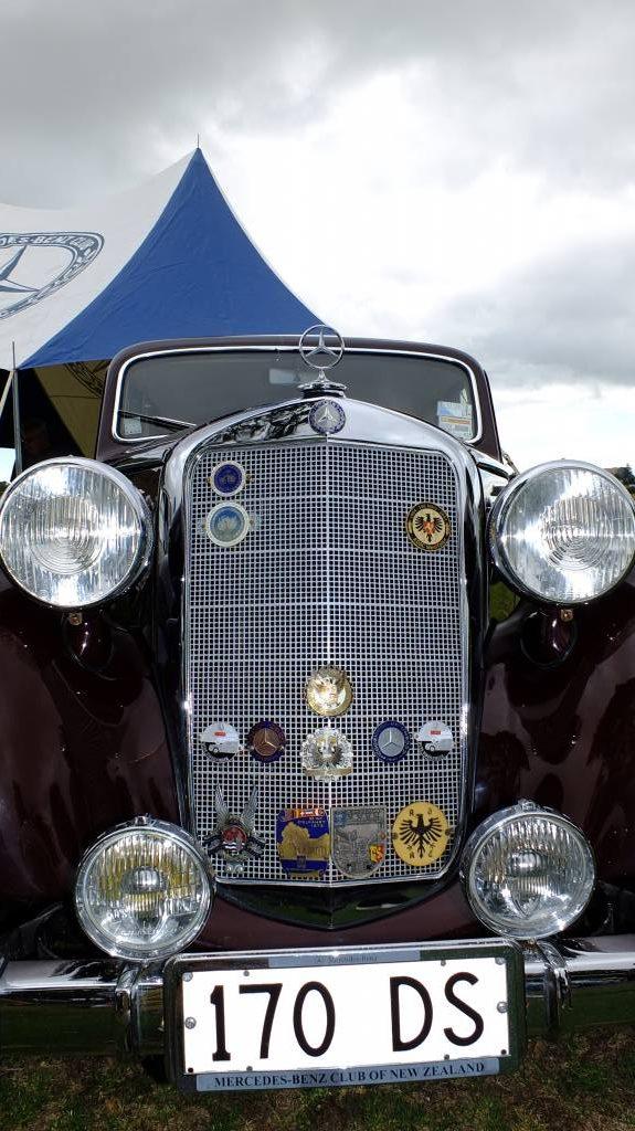 Harindra's stately maroon 1953 170DS