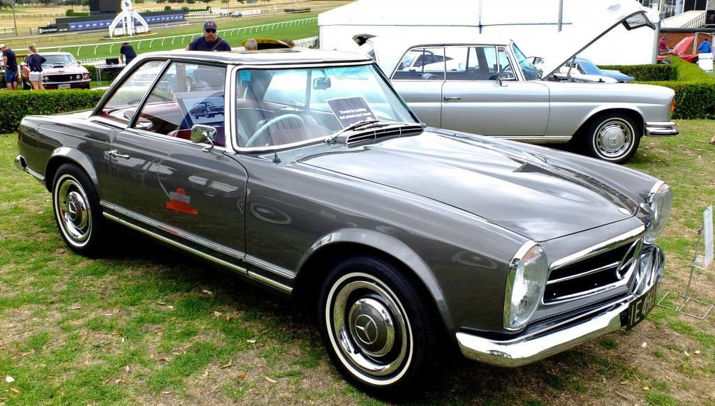 Wayne's 1964 230SL and Lloyd's 1971 280SE 3.5 coupe