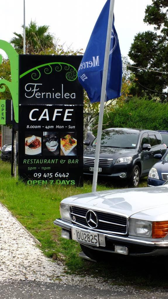 Mercs at Fernielea Cafe