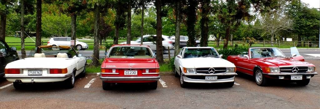 Red 'n white and Merc all over