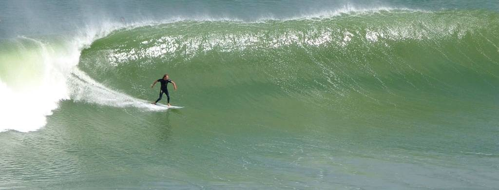 Surfs up Maori Bay