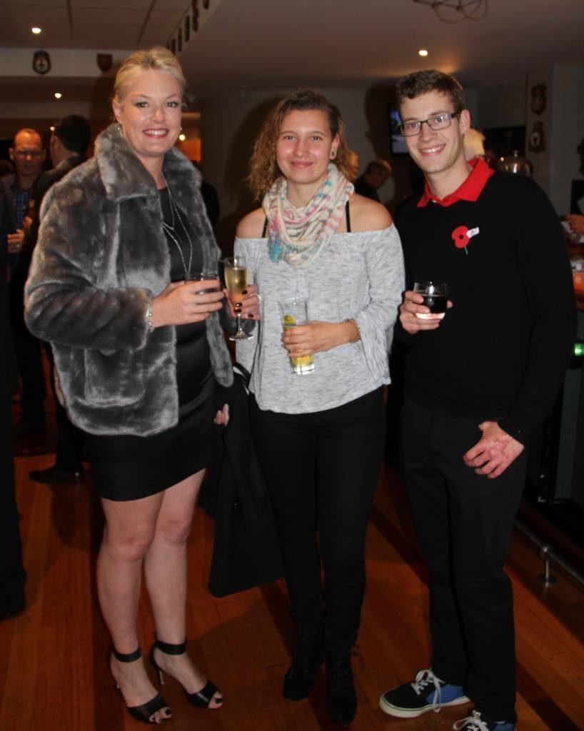 Shareen, Judith and Gerrit