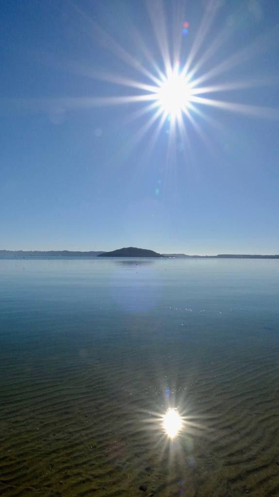 Stunning but cold Rotorua weather