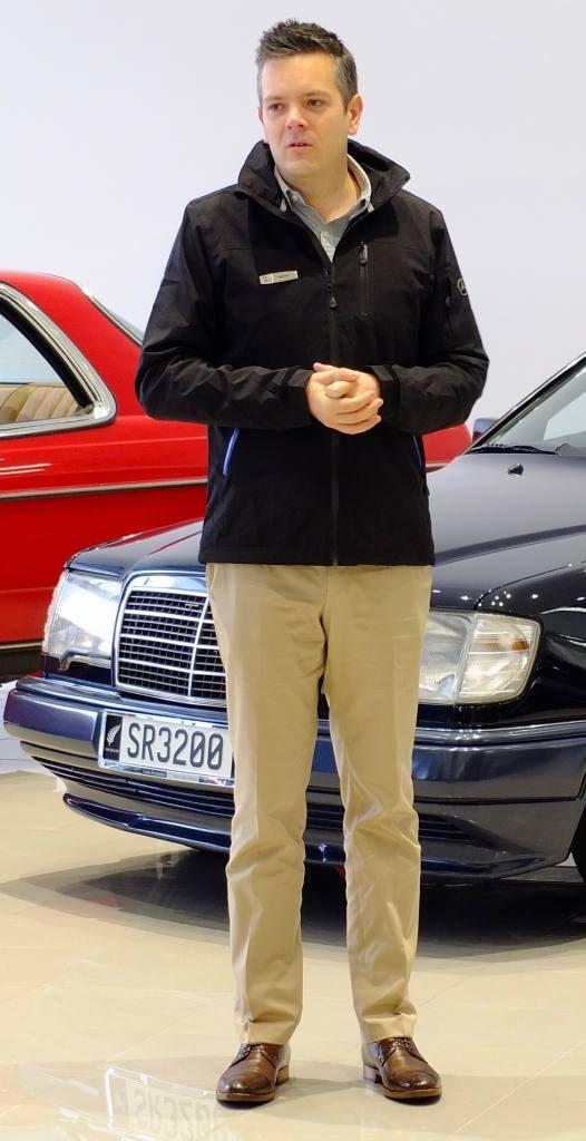 Jeremy, MB enthusiast, club member, dealer principal