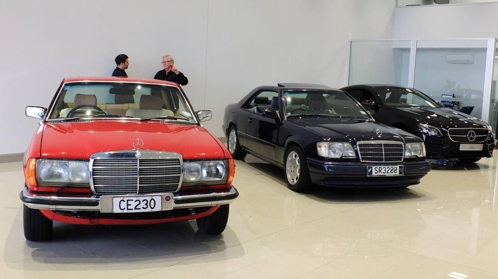 Three generations of E