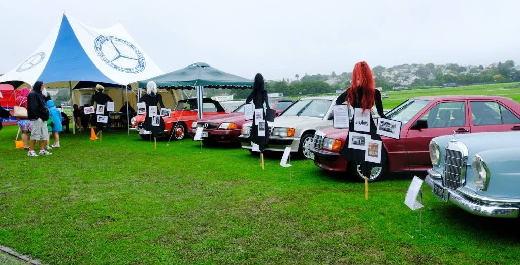 Club display - Women & the Marque