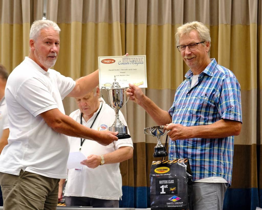 Harald Decker - Master Class winner