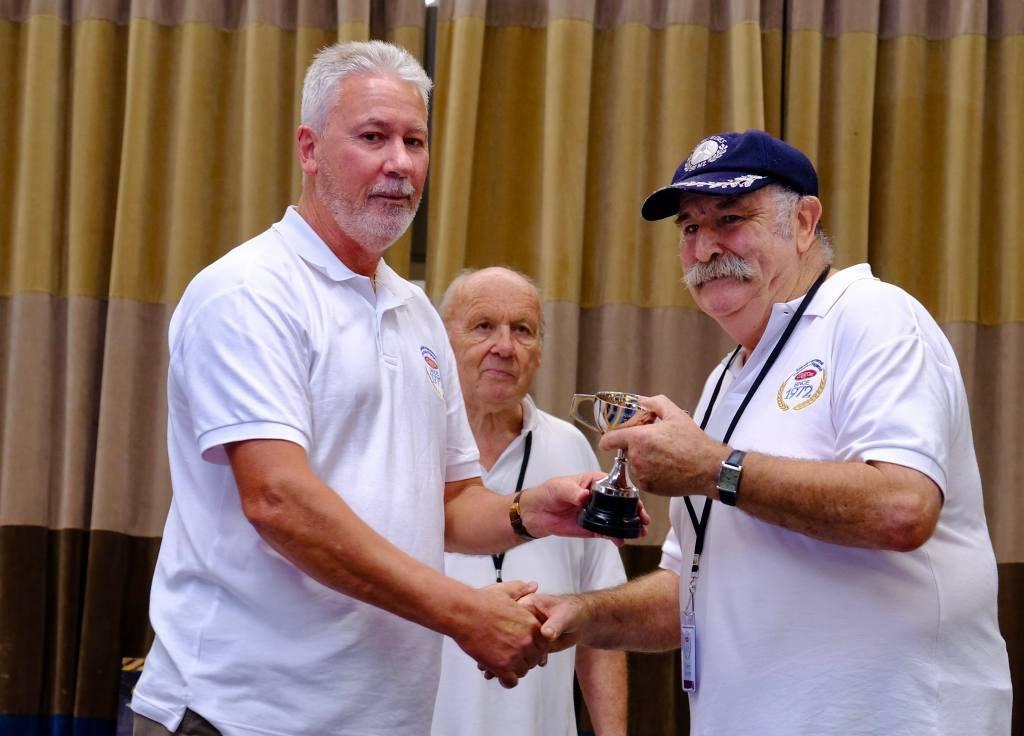 Garry Boyce - winner Teams Event and highest points car
