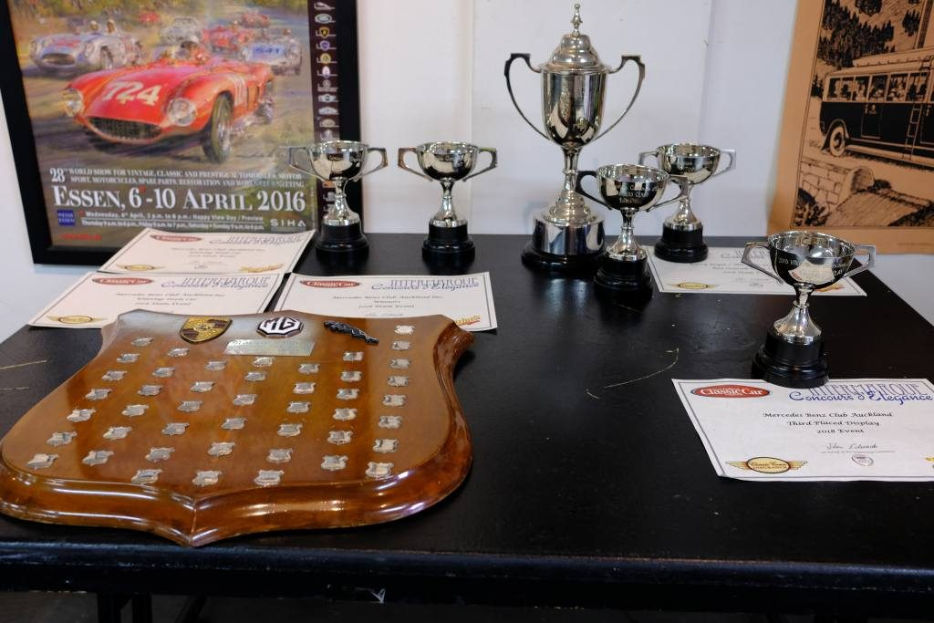 MB Club prize haul